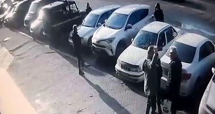 Strzelanina pod sądem w Mikołajowie (Rosja)
