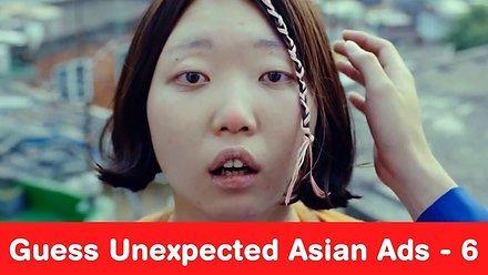 Azjatyckie reklamy z zaskakującym zakończeniem