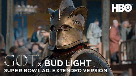 """Reklama piwa Bud Light w stylu """"Gry o tron"""", czyli reklama z Super Bowl"""