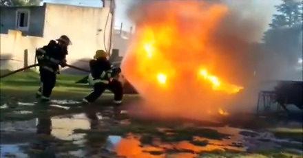 Woda kontra ogień