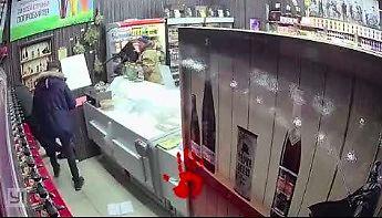 Odważny rabunek sklepu w Czelabińsku