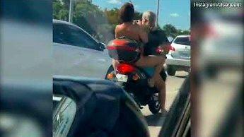 Taki widok mieli ostatnio kierowcy w Miami