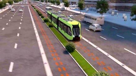 Chiczycy testują specyficzny tramwaj