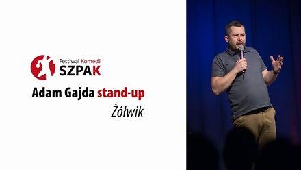 """Nie jest prosto wziąć ślub w kościele - Adam Gajda stand-up pt. """"Żółwik"""""""