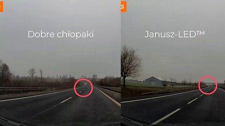 Janusz na ledach - widoczność i zagrożenie