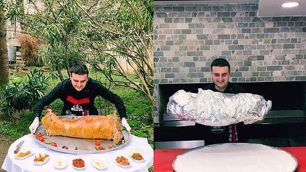 Turecki szef kuchni pokazuje, jak powstaje dobre żarło