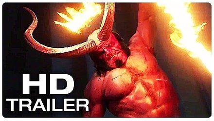 Krwawy zwiastun nowego Hellboya