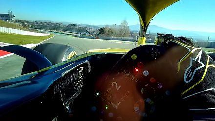 Jazda bolidem Formuły 1 oczami kierowcy