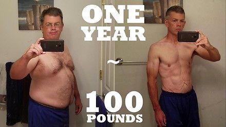 Gościu chudnie 45 kg w rok