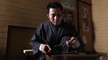 Japońskie rękodzieło - podstawka pod pałeczki