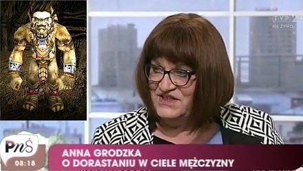 Anna Grodzka o życiu w obozie orków