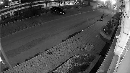 Dewastacja pojazdów na ulicy Montelupich w Krakowie