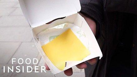 Zamówienie pustej kanapki w McDonald's