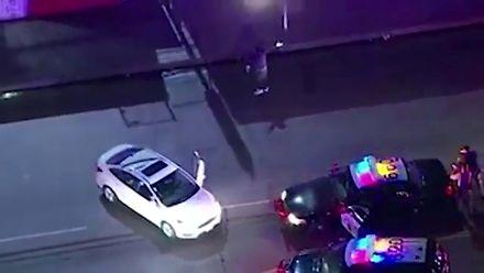 """Kiedy policja mówi ci """"get down"""""""