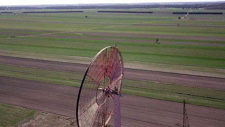 Samodzielnie wybudował 50-metrową elektrownię wiatrową