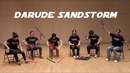 Darude Sandstorm na instrumentach-rurach Boomwhackers