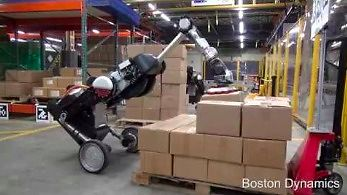 Handle Robot od Boston Dynamics