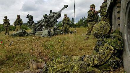 Pobudka artyleryjska w Kanadzie