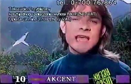 Disco Relax - telelista z 1996 roku