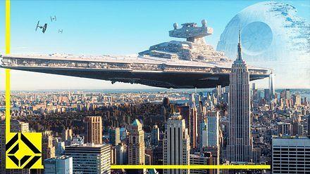 """Gdyby statki z """"Gwiezdnych Wojen"""" istniały naprawdę"""