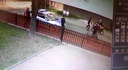 Potrącenie policjantki w Lubaniu