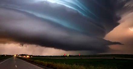 Burza też może być piękna