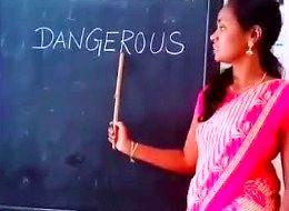 W Indiach dzieci uczą się angielskiego