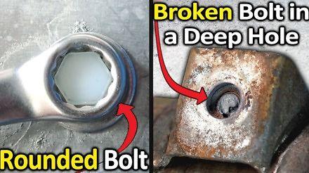Jak odkręcać wyrobione śruby?