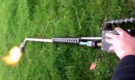 Niezbyt rozsądna metoda walki ze szkodnikiem w ogrodzie