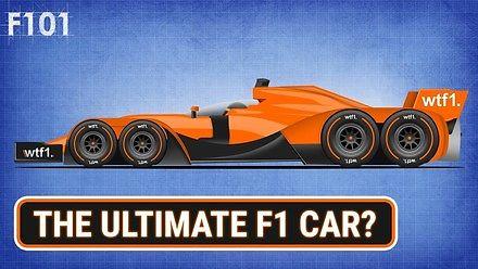 Jak wyglądałby bolid F1, gdyby nie było ograniczeń w przepisach?