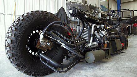 Motocykl zrobiony z tego, co było pod ręką