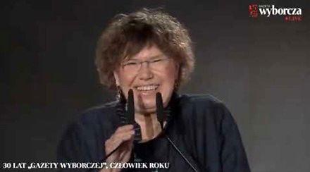 """Barbara Engelking i jej """"przejęzyczenie"""""""