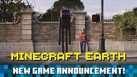 Minecraft Earth: Oficjalny zwiastun