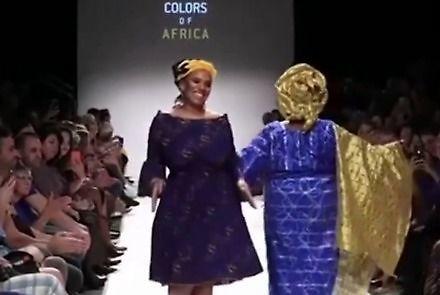 Kolory Afryki, czyli roztańczony Africa Fashion Show