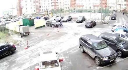 Służby rosyjskie w dramatycznym pościgu samochodowym