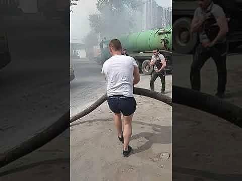 Rzadki sposób gaszenia samochodu