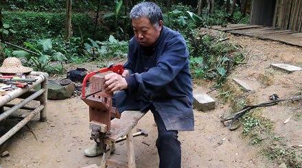 Chiński mistrz robi coś niesamowitego