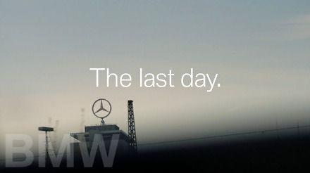 BMW żegna prezesa Daimlera żartobliwym spotem