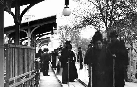 Podróż przez Paryż pod koniec lat 90. XIX wieku