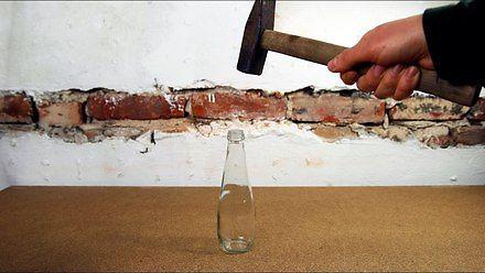 Jak zmniejszyć szklaną butelkę?