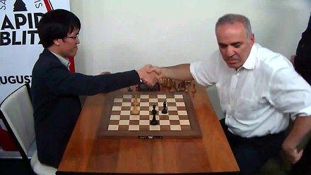 Kasparow dał sobie tylko 5 sekund...