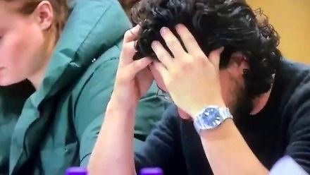 Reakcja Kita Haringtona, gdy dowiaduje się, że Jon...