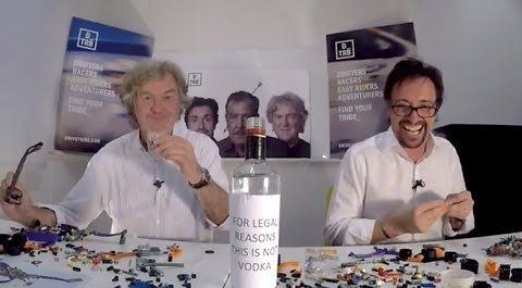 Hammond i May budują auta z lego pijąc (nie)wódkę