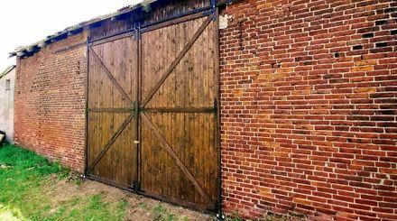 Jak zrobiłem drewnianą, retro bramę przesuwną