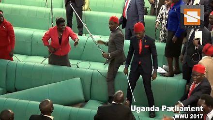 W ugandyjskim parlamencie siedzą sami fani sportów walki