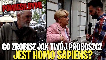 Co zrobisz, kiedy dowiesz się, że twój proboszcz to Homo Sapiens?
