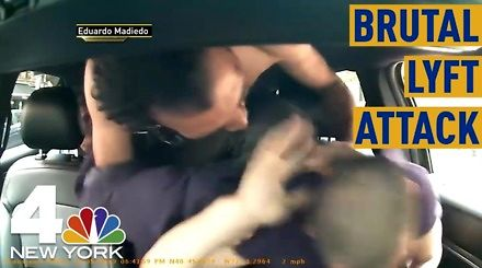 Brutalny atak na kierowcę w Nowym Jorku