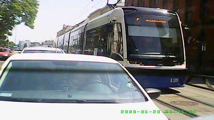 Od upału wygięła się szyna tramwajowa w centrum Bydgoszczy