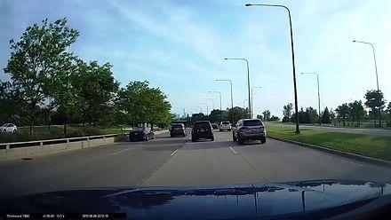Poważne skutki nierozgarnięcia kierowcy w Chicago