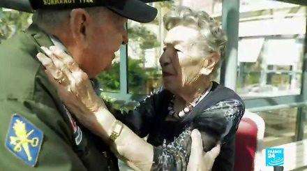 Weteran D-Day spotyka utraconą miłość po 75 latach